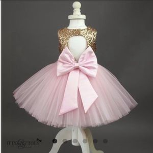 Itty bitty toes princess kate dress